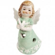 Сувенир с подсветкой Ангел в мятном...