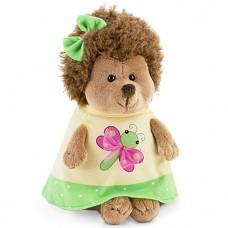 Мягкая игрушка Ежинка в платье с ба...