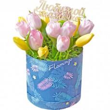 Композиция Тюльпаны любимой  мамочк...