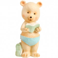 Сувенир Медвежонок с книжкой, 13 см