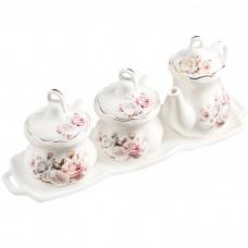 Набор сервировочный Чайная роза