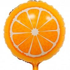 Шар фольгированный Апельсин