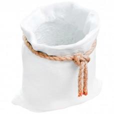 Кашпо бетонное Мешочек, 15 см
