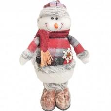 Кукла интерьерная Снеговик в клетча...