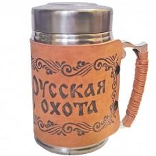 Термокружка с ситечком Русская охот...