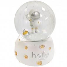 Снежный шар с подсветкой Космонавт,...