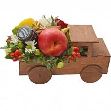Ящик Автомобиль с цветами и набором...