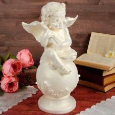 Ангел на шаре со скрипкой, большой