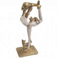 Сувенир Йога и котики, 28 см