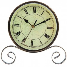 Часы настольные, на витой подставке...