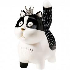 Сувенир Котик в короне, 16,3 см