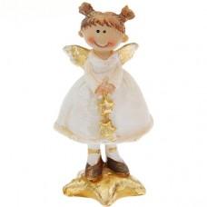 Сувенир Девочка - ангелочек с хвостиками