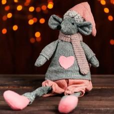 Мягкая игрушка Мышонок сердце на св...