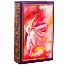 Сейф-дерево книга кожзам Балерина