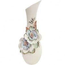 Фарфоровая ваза Лола 32 см, лепка