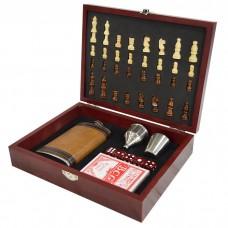 Подарочный набор Шахматы 6 в 1