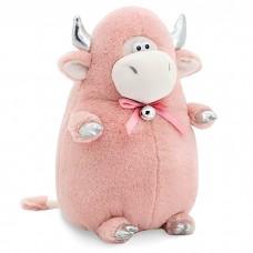 Мягкая игрушка Розовый бычок, 20 см