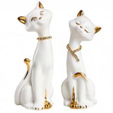 Сувенир керамический Кот и кошечка ...