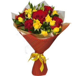 Загадка про букет цветов
